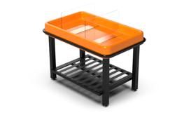 tangerine orange grocery store produce displays