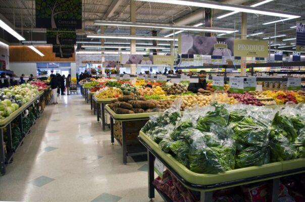 Potato Market Tables - Centra Food Market