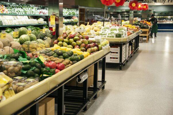 Watermelon Market Tables - Terra Supermarket