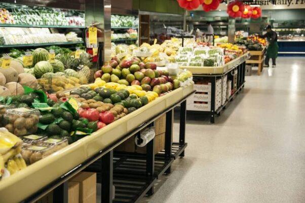 avocado tables in TERRA SUPERMARKET