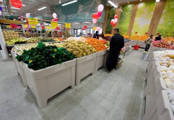 avocado tables in WINCO
